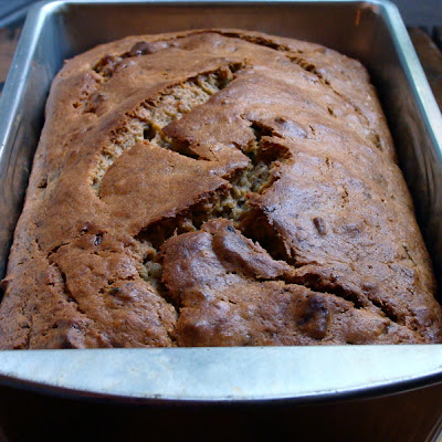 Brown Butter Bourbon Banana Bread