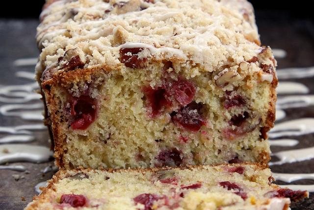 Cranberry Orange & Pecan Coffee Cake Recipe | Yummly