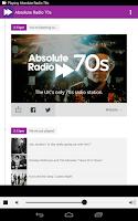 Screenshot of Absolute Radio 70s
