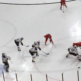 Hockey game by Laddawan Donohue - Sports & Fitness Ice hockey ( hockey game )