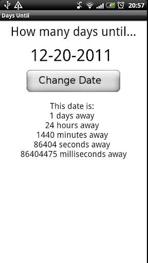 Days Until...