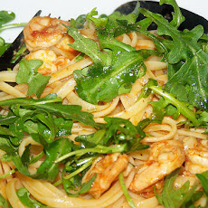 Prawn Linguine With Rocket