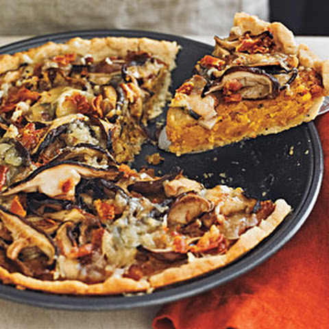 Butternut Squash and Swiss Chard Tart with Olive Oil Crust Recept ...
