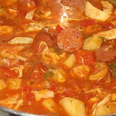 Sausage and Chicken Stew