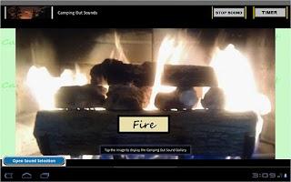 Screenshot of Sleep Sounds: Camping