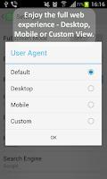 Screenshot of NC Browser Free