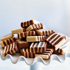 Black and White Striped Cookies