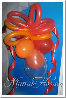 Decoración con Globos…
