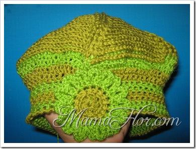 Tejidos a Crochet: Rosa para Aplicación II…
