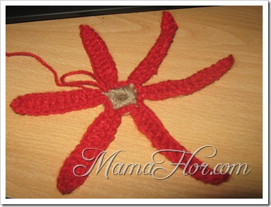 Tejidos a Crochet: Flor Modelo Matizado…