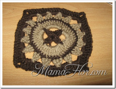 Tejidos a Crochet: Pastillas Cuadradas…