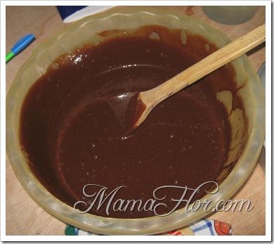 Repostería: Fosh de Chocolate para Bañar una torta