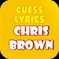 Free Guess Lyrics: Chris Brown APK for Windows 8