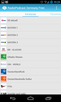Screenshot of RadioPodcast Germany Free
