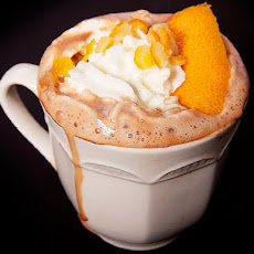 Orange Pisco Hot Chocolate