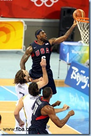 LeBron James and the Americans have been heads and shoulders above the competition