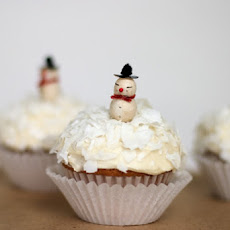 Snow-topped Holiday Cupcakes