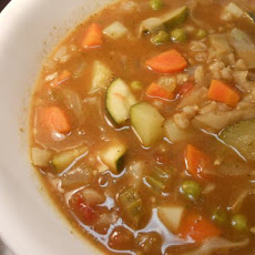 Barley Minestrone With Pesto