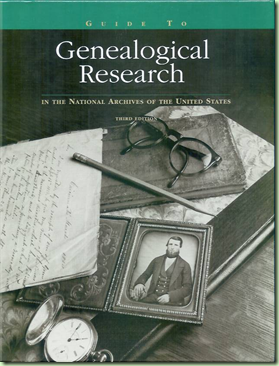 Find and consult a copy of Guide to Genealogical Research before visitng NARA