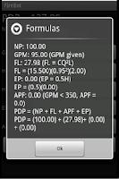 Screenshot of Firebot Fire Pump Calculator