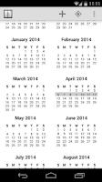 Screenshot of Agenda Calendar