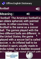 Screenshot of English++ Offline Dictionary