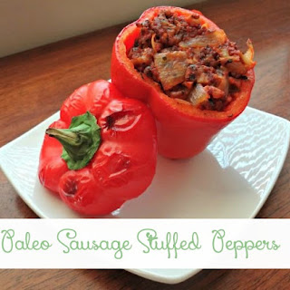 Paleo Sausage Stuffed Pepper