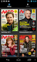 Screenshot of AARP The Magazine