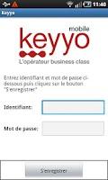 Screenshot of Keyyo Synchro