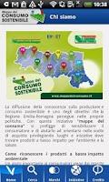 Screenshot of Mappe del consumo sostenibile
