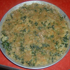 Spinach and Shells Pie