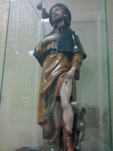 Saint at San Roque Hospital