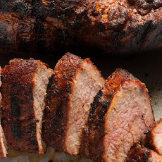 Coffee-Rubbed Grilled Pork Tenderloin
