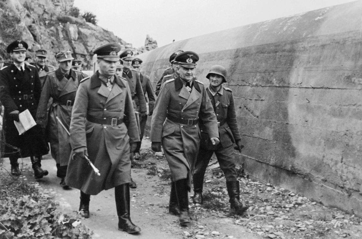 Inspecting the Atlantic Wall