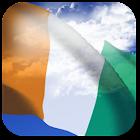 3D Ivory Coast Flag icon