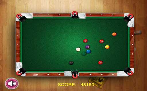 ballnetic-billar for android screenshot
