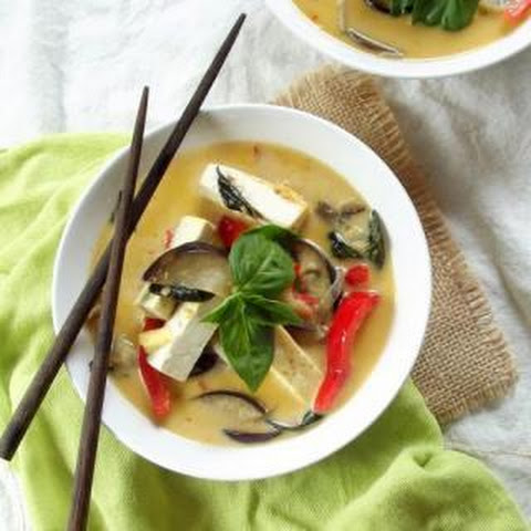 Red Curry with Tofu and Eggplant