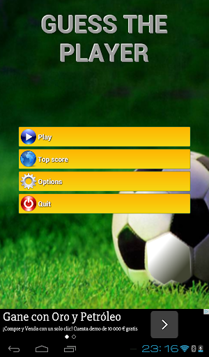 Soccer Players Quiz 2016 - screenshot