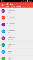 Screenshot of Wielertoerisme kalender
