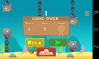 Screenshot of Flippy Fish