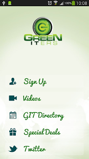 GreenITers Mobile - screenshot