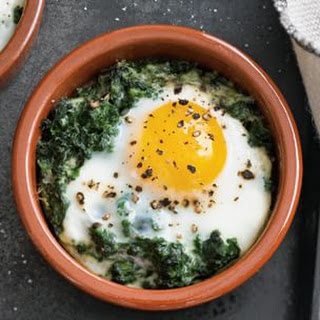 Baked Eggs With Spinach And Cream Recipes