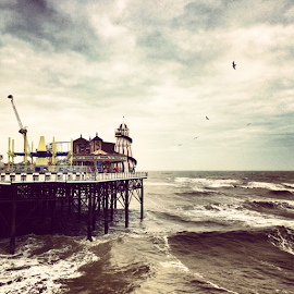Brighton Pier by Ludwig Wagner - Instagram & Mobile iPhone