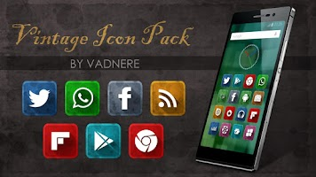 Screenshot of Vintage Icon Pack Theme