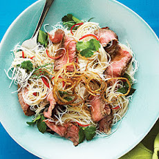 Vietnamese Steak Noodle Salad