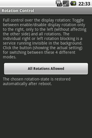 AutoRotation Control