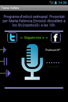 Screenshot of Tecno esfera Podcast