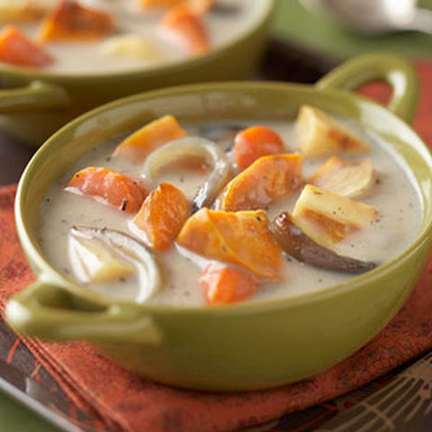 Roasted Root Vegetable Soup