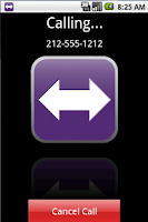 Screenshot of IP-Relay for Android