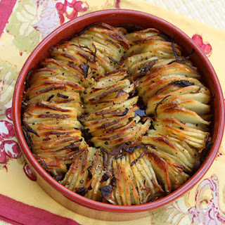 Roasted Potato Spiral